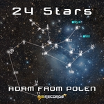 ADAM FROM POLEN feat ANGEL FALLS - 24 Stars (Front Cover)