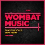 SPACE RASCALS - Left Right (Front Cover)