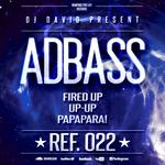 DJ DAVID present ADBASS - Fired Up (Back Cover)