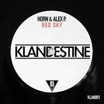 HORN & ALEX P - Red Sky (Front Cover)