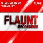 SHAUN WILLIAMS - Stand Up (Front Cover)
