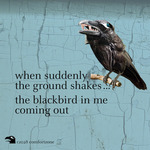 VARIOUS/COMFORTZONE - When Suddenly The Ground Shakes ... The Blackbird In Me Coming Out (Front Cover)