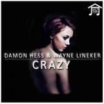 DAMON HESS & WAYNE LINEKER - Crazy (Front Cover)