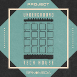 5PIN MEDIA - 5Pin Media Project: Underground Tech House (Sample Pack LIVE/MASCHINE/MIDI) (Front Cover)