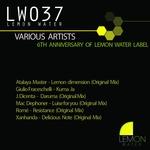 6th Anniversary Of Lemon Water Label