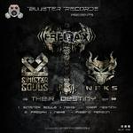 SINISTER SOULS/FREQAX/NEKS - Their Destiny EP (Front Cover)