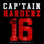 RONALD V/VARIOUS - Cap'tain Harderz 2016 (unmixed tracks) (Front Cover)