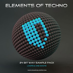 SAMPLE LOOPS - Elements Of Techno (Sample Pack WAV) (Front Cover)