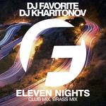 DJ FAVORITE & DJ KHARITONOV - Eleven Nights (Front Cover)