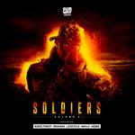 BUKEZ FINEZT/REQUAKE/LIFECYCLE (NL)/NOCLU/HEBBE - Soldiers EP Vol 2 (Front Cover)