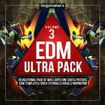 EDM Ultra Pack Vol 3 (Sample Pack WAV/APPLE/LIVE/REASON)