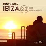 VARIOUS - Bienvenido A Ibiza (20 Deep Sandcastles) Vol 1 (Front Cover)