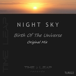 NIGHT SKY - Birth Of The Universe (Front Cover)