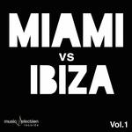 VARIOUS - Miami vs Ibiza (Front Cover)