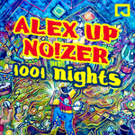 ALEX UP/NO!ZER - 1001 Night's (Front Cover)