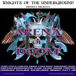 VARIOUS - Arena Of Doom (Front Cover)