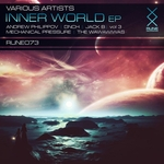 THE WAWAWIWAS/ANDREW PHILIPPOV/JACK B/MECHANICAL PRESSURE/DNCH - Inner World EP Vol 3 (Front Cover)