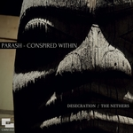 PARASH/CONSPIRED WITHIN - Desecration / The Nethers (Front Cover)