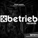 GRANT GENERA - Techno Generation (Front Cover)