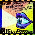 JASON LAIDBACK feat SIMM - Namechecka! (Front Cover)