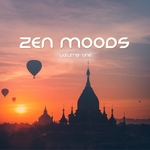 VARIOUS - Zen Moods Vol 1 (Spiritual Relaxation Music) (Front Cover)