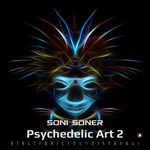 SONI SONER - Psychedelic Art 2 (Front Cover)