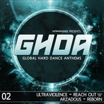 ULTRAVIOLENCE/ARZADOUS - GHDA Releases S4-02 Vol 4 (Front Cover)