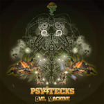 PSY4TECKS - Evil Machine (Front Cover)