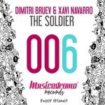 DIMITRI BRUEV/XAVI NAVARRO - The Soldier (Front Cover)
