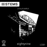 ORNERY & DEF4ULT - Eightynine (Front Cover)