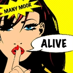 MANY MOOR - Alive (Front Cover)
