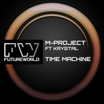 M-PROJECT feat KRYSTAL - Time Machine (Front Cover)