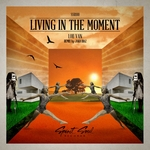 LOU VAN - Living In The Moment (Front Cover)