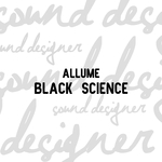 ALLUME - Black Science (Front Cover)