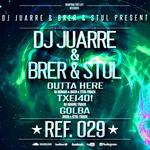 DJ JUARRE/BRER/STUL - Outta Here (Back Cover)
