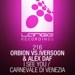 ORBION vs IVERSOON/ALEX DAF - I See You (Front Cover)
