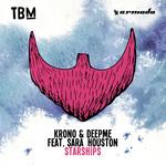 KRONO/DEEPME feat SARA HOUSTON - Starships (Front Cover)