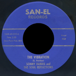 SONNY HARRIS/THE SOUL REFLECTIONS - The Vibration/You Were Only Making Believe (Front Cover)