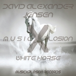 DAVID ALEXANDER JENSEN - White Horse (Front Cover)