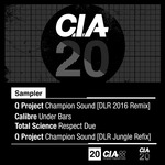 Q PROJECT/CALIBRE/TOTAL SCIENCE - CIA 20 LP Sampler (Front Cover)
