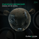 STAN KOLEV/MATAN CASPI - Damage/2016 Re-Works (Front Cover)