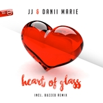 JJ & DANII MARIE - Heart Of Glass (Front Cover)