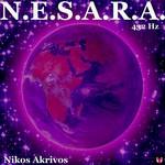 NIKOS AKRIVOS - Nesara (Front Cover)