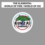 THE ELEMENTAL - World Of Fire (Front Cover)