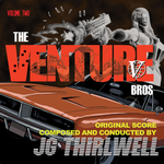 JG THIRLWELL - Music Of The Venture Bros Volume Two (Front Cover)