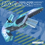 JX CANNON - Tanked/Gagged (Front Cover)
