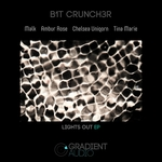 B1T CRUNCH3R - Lights Out EP (Front Cover)