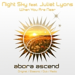 NIGHT SKY feat JULIET LYONS - When You Are Near (Front Cover)