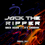 JACK THE RIPPER - Back Again/It's Groovin' (Front Cover)