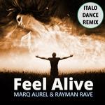 RAYMAN RAVE/MARQ AUREL - Feel Alive (Front Cover)